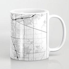 Minimal City Maps - Map Of Sacramento, California, United States Coffee Mug