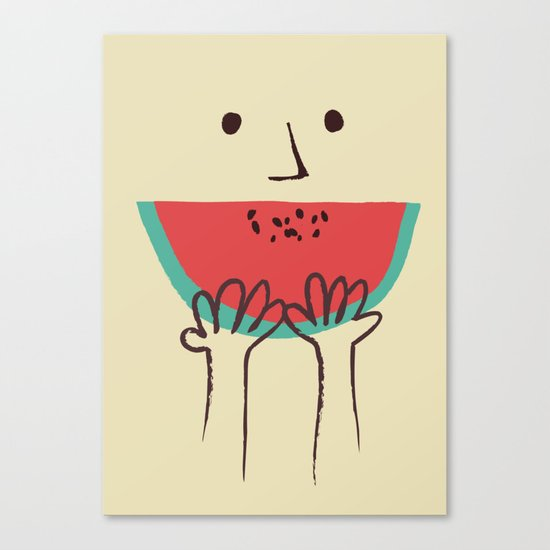 Summer smile Canvas Print