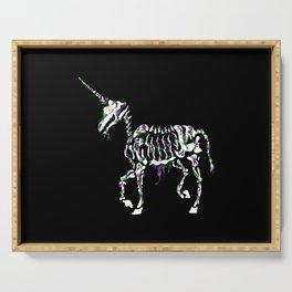 Undead Unicorn Serving Tray