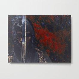 """Blade to Blade"" Metal Print"