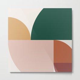 Abstract Geometric 11 Metal Print