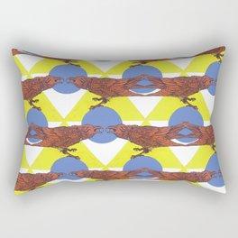 Muninn & The Wheel Rectangular Pillow