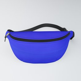 Solid Cobalt Blue - Brush Texture Fanny Pack