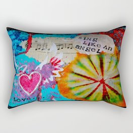 Sing Like an Angel Rectangular Pillow