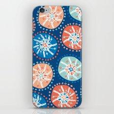 Flower Puffs iPhone & iPod Skin