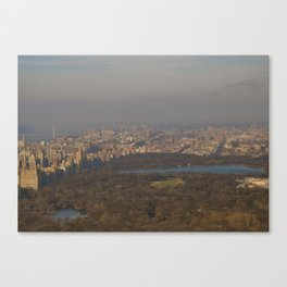 Central Park New Years Day 2012 Canvas Print