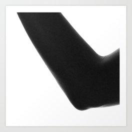 Abstract Body Art Print