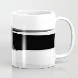 Soft Determination Black & White Coffee Mug