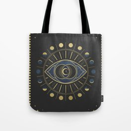 The Third Eye or The Sixth Chakra Tote Bag