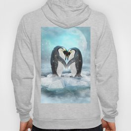 Listen Hard (Penguin Dreams) Hoody