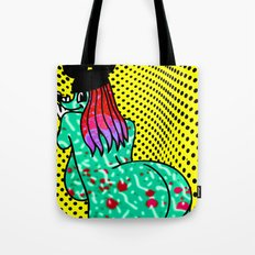 UP AGAINST IT.  (Mouseketeers). Tote Bag