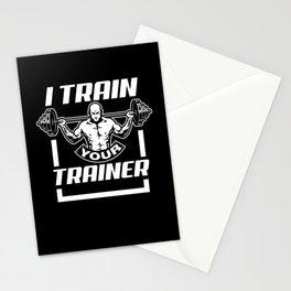 Bodybuilding Training Stationery Cards
