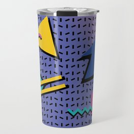 Memphis Pattern 9 - 90s - Retro Travel Mug