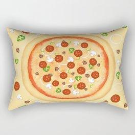 Just Pizza Rectangular Pillow