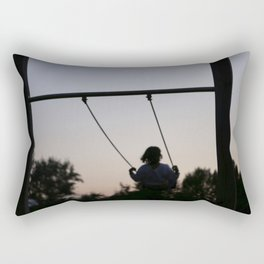 sunset swing Rectangular Pillow