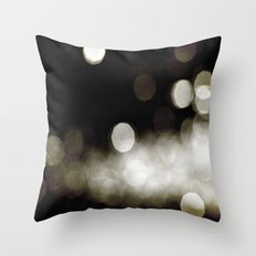 Into the Golden Night Throw Pillow