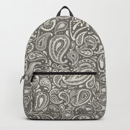 NEUTRAL PAISLEY Backpack