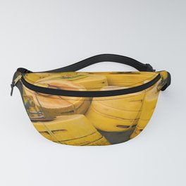 Yellow gathering Fanny Pack