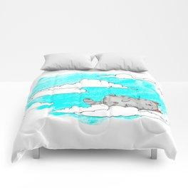 Sky Cat Comforters