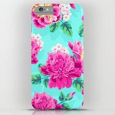 Bright Flowers Pretty Peonies iPhone 6s Plus Slim Case