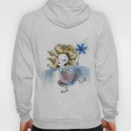 Tiny blue fluffy fairy Hoody