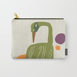Quirky Brolga Carry-All Pouch
