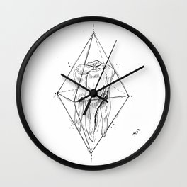 Tooth Prism Wall Clock
