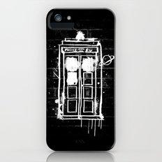 Time Lord Graffiti  iPhone SE Slim Case
