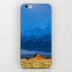 Stormy Sunrise. iPhone & iPod Skin