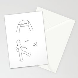 Unqualified Advice 14: Fuck laziness Stationery Cards