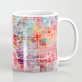 Miramar map Florida painting 2 Coffee Mug