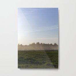 haze at sunset Metal Print