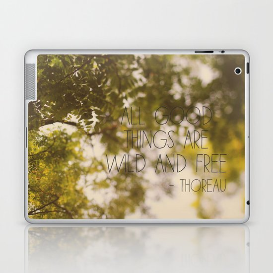 All Good Things Laptop & iPad Skin
