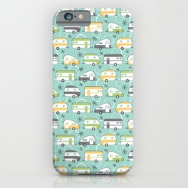 Happy Campers iPhone Case