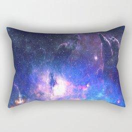 Dark Deep Space - Interstellar Dust Rectangular Pillow