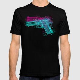 Gun Diagram T-shirt