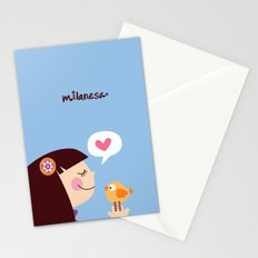 Milanesa Stationery Cards