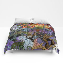 Cryptid Creatures and Mysterious Monsters Comforters