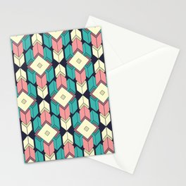 Looping Geometry I Stationery Cards