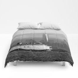 Ferry & Freedom Tower Comforters