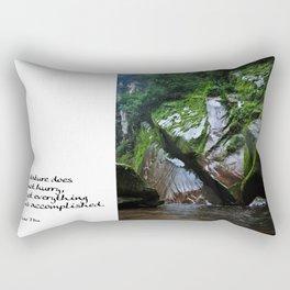 Peruvian Amazon III Rectangular Pillow
