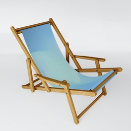 Blue serenity Sling Chair