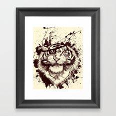 TigARRGH!! Framed Art Print