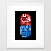 matrix Framed Art Prints featuring Matrix by otaviocvo