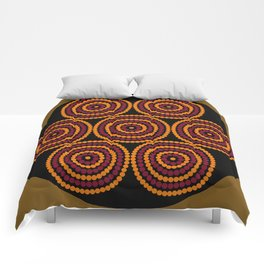 Aboriginal Cycle Style Painting Comforters