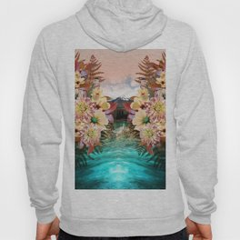 Flowers Mountain Lake Cloud Snow, Forest Hoody