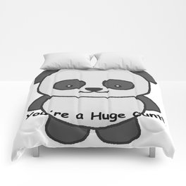 Panda says you're a huge cunt Comforters