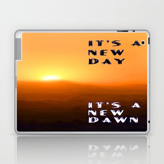 It's a New Day Laptop & iPad Skin