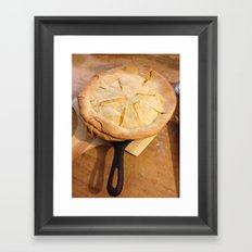 farm house pie Framed Art Print