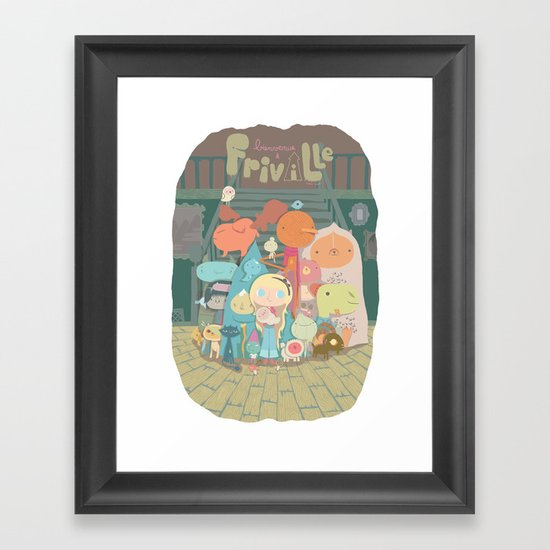 frimin Framed Art Print